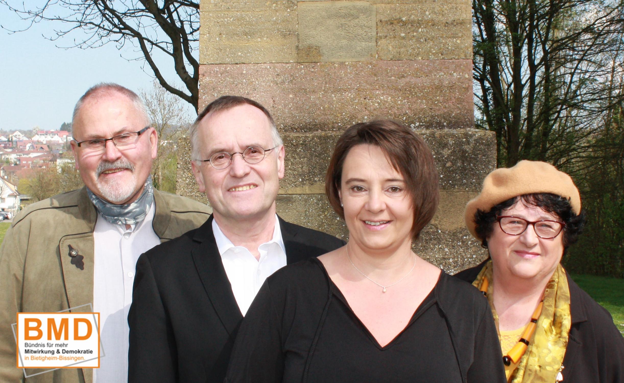 BMD-Kandidaten zur Gemeinderatswahl Bietigheim-Bissingen 2019